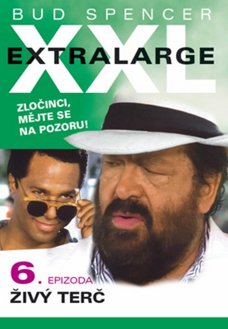 Extralarge 6: Živý terč (DVD) (papírový obal)