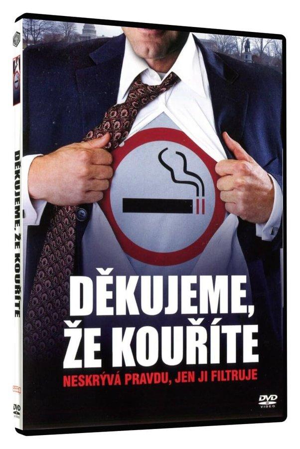 Děkujeme, že kouříte (DVD)