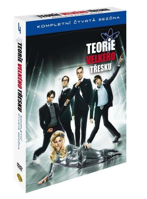 Teorie velkého třesku 4. sezóna - 3 DVD (24 dílů)