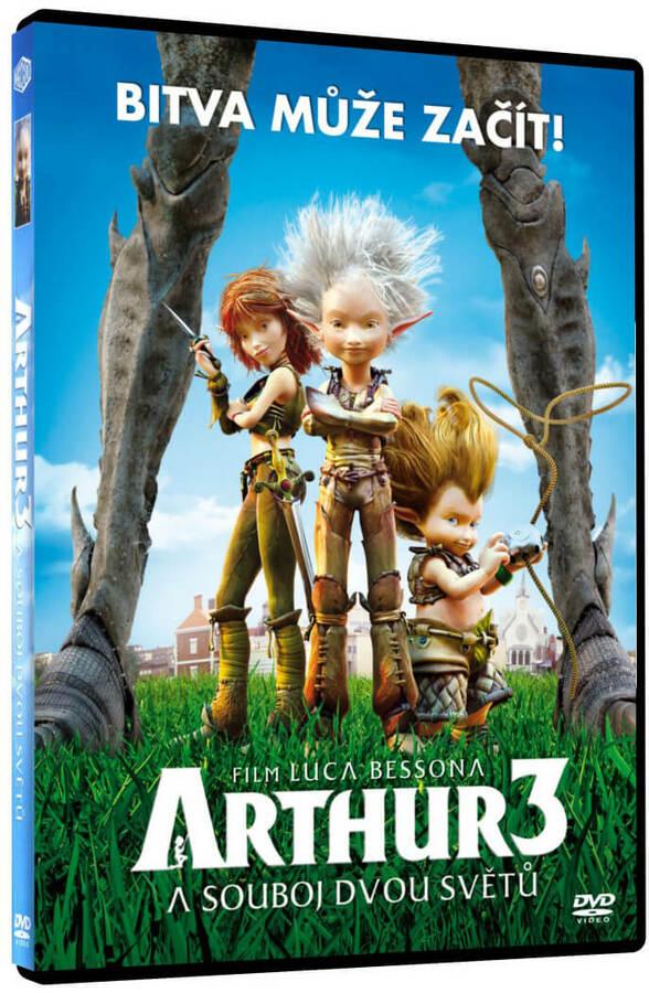 Arthur a souboj dvou světů (DVD)