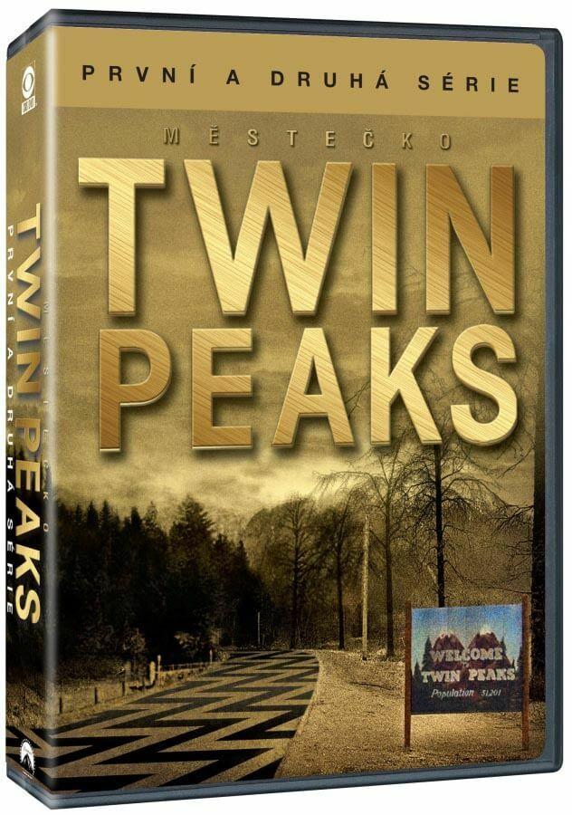 Městečko Twin Peaks: kompletní tv seriál (9 DVD)