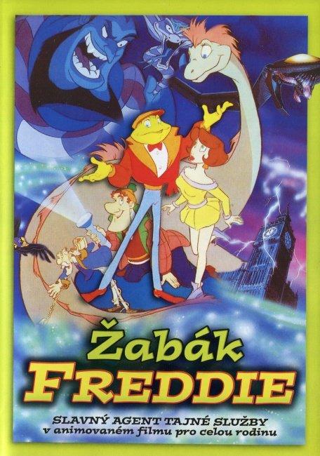 Žabák Freddie (DVD) - slimbox