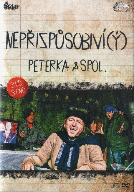 Peterka a spol. - Nepřizpůsobiví (ý) - 3xDVD+3xCD+ZDARMA 4xCD