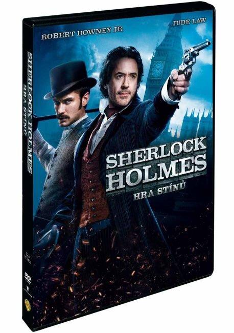 Sherlock Holmes: Hra stínů (DVD)