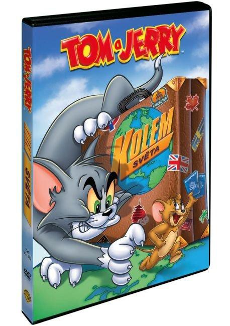 Tom a Jerry kolem světa (DVD)