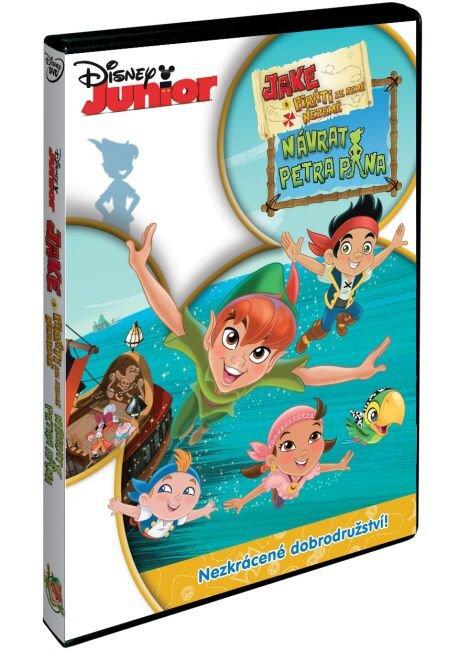 Jake a piráti ze Země Nezemě: Návrat Petra Pana (DVD)
