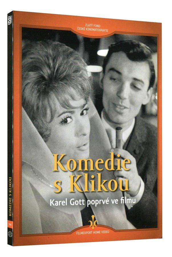 Komedie s Klikou (DVD) - digipack