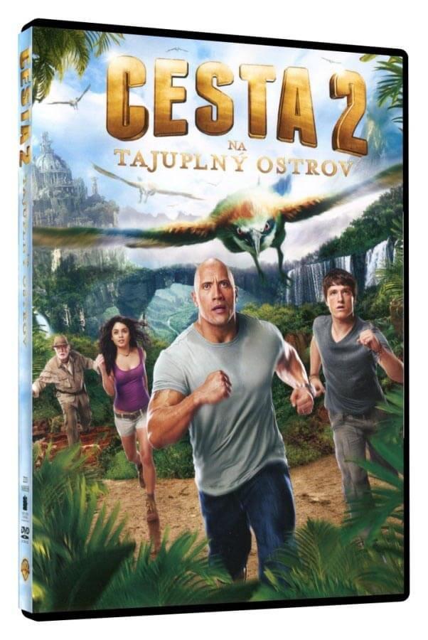 Cesta na tajuplný ostrov 2 (DVD)