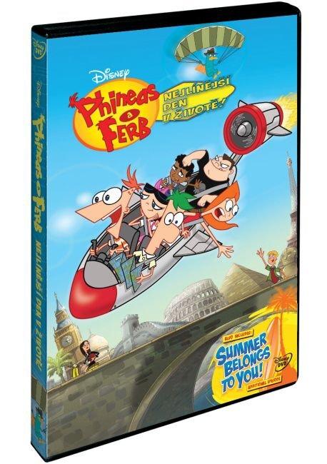 Phineas a Ferb: Nejlínější den v životě (DVD)