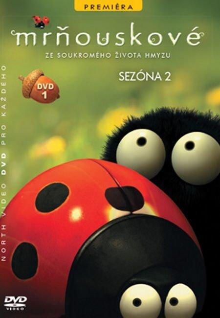 Mrňouskové 01 - 2. série (DVD) - tv seriál
