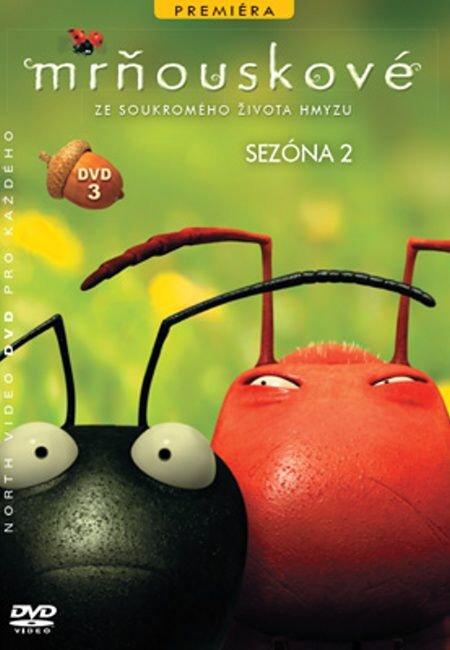 Mrňouskové 03 - 2. série (DVD) - tv seriál