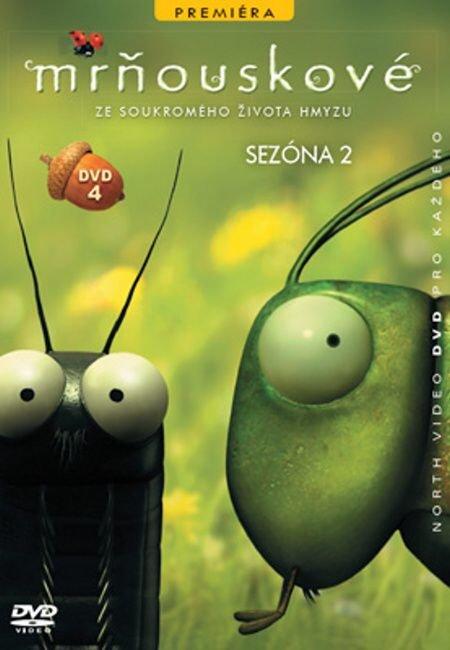 Mrňouskové 04 - 2. série (DVD) - tv seriál