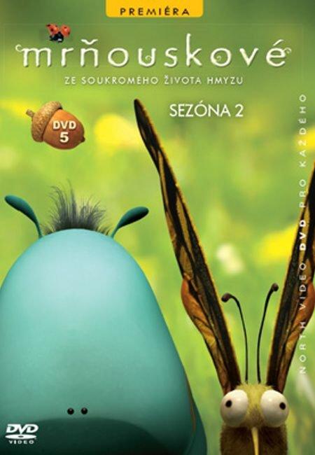 Mrňouskové 05 - 2. série (DVD) - tv seriál