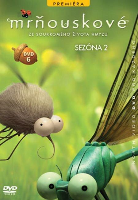Mrňouskové 06 - 2. série(DVD) - tv seriál
