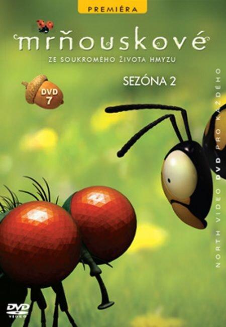 Mrňouskové 07 - 2. série (DVD) - tv seriál