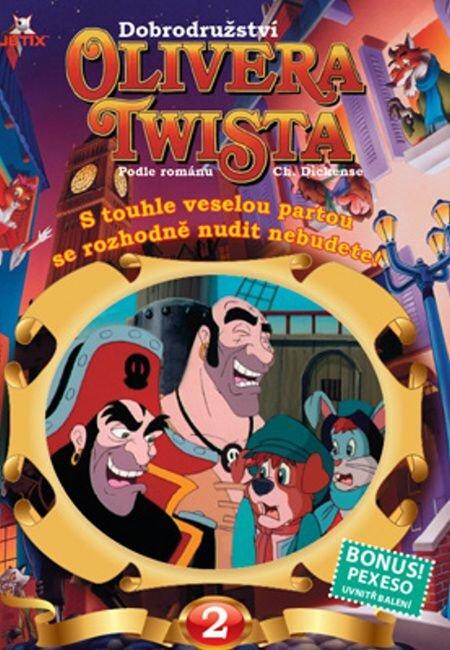 Dobrodružství Olivera Twista 02 (DVD) - tv seriál (papírový obal)