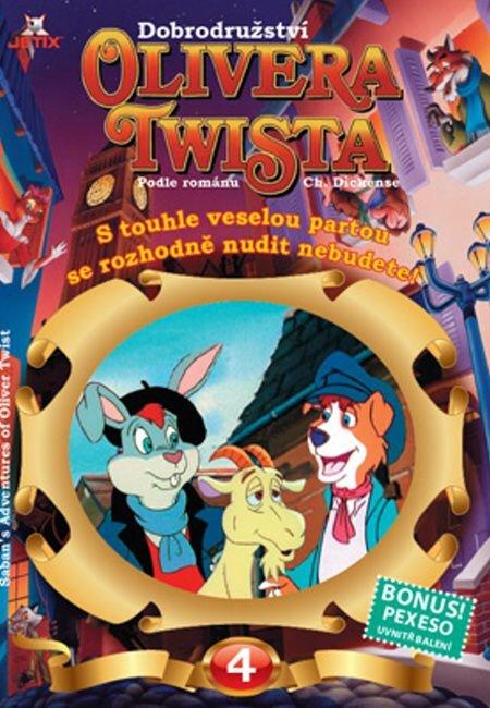 Dobrodružství Olivera Twista 04 (DVD) - tv seriál (papírový obal)