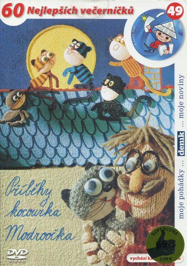Příběhy kocoura Modroočka (DVD) (papírový obal)