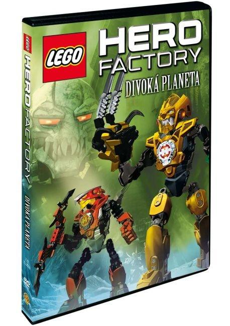 Lego Hero Factory: Divoká planeta (DVD)