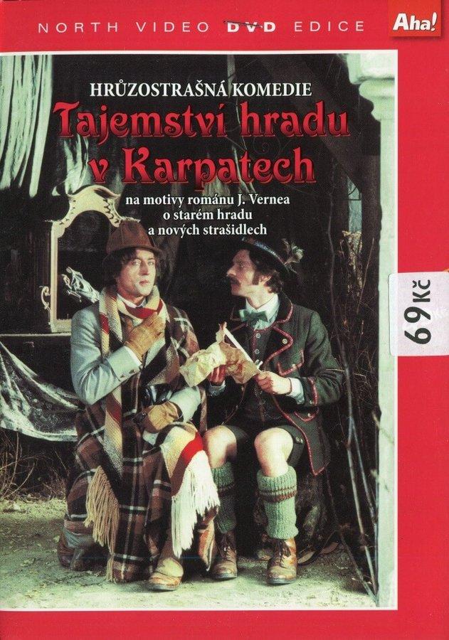 Tajemství hradu v Karpatech (DVD) (papírový obal)