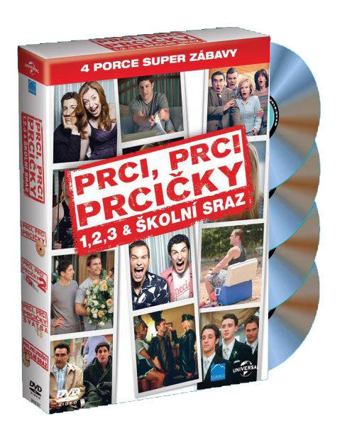 Prci, prci, prcičky kolekce 1-4 (4 DVD)