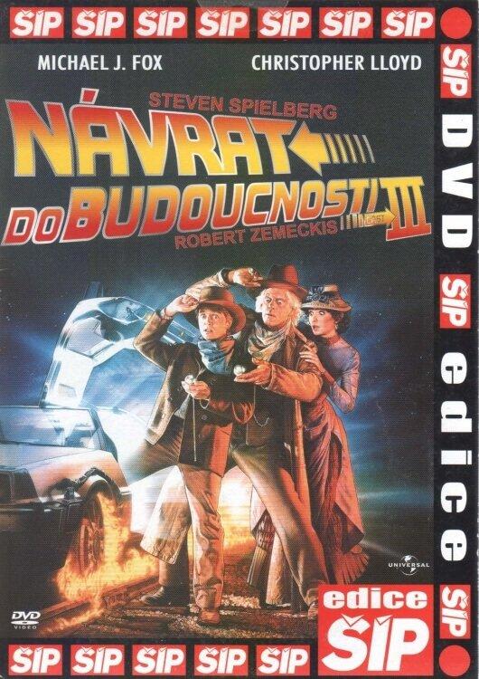 Návrat do budoucnosti 3 (DVD) (papírový obal)