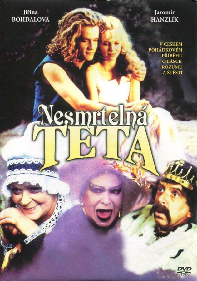 Nesmrtelná teta (DVD) (papírový obal)