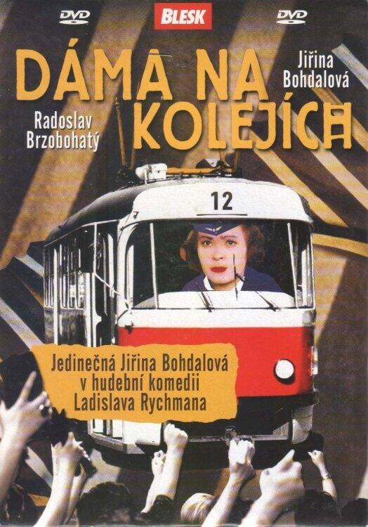 Dáma na kolejích (DVD) (papírový obal)