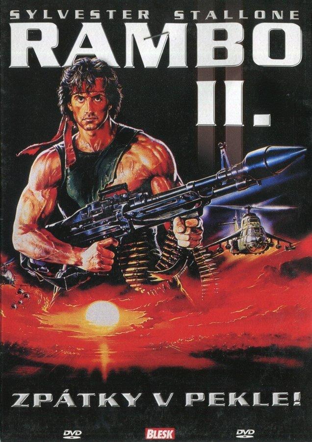 Rambo II (DVD) (papírový obal)