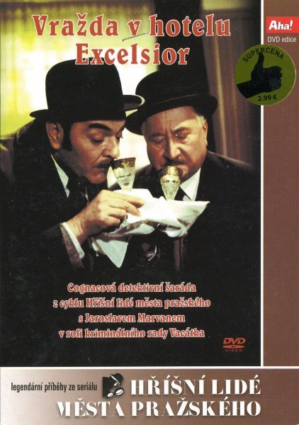 Vražda v hotelu Excelsior (DVD) (papírový obal)