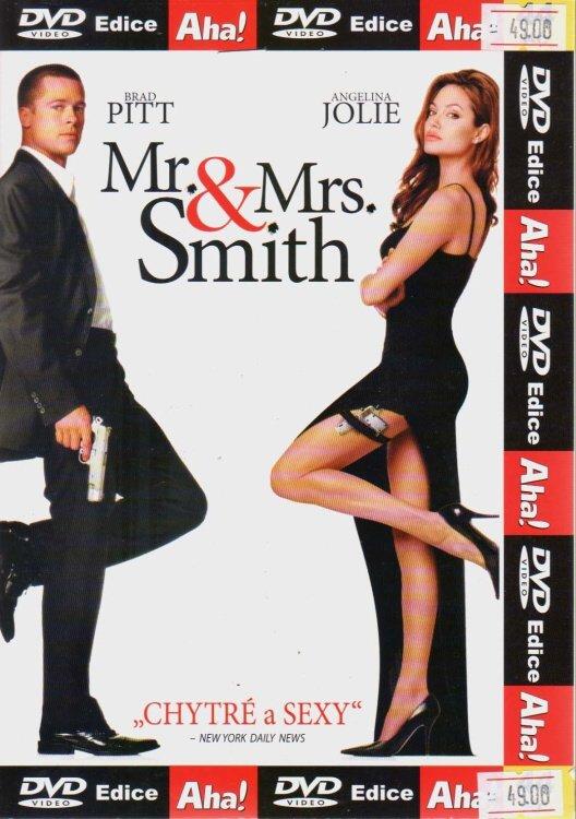 Mr. & Mrs. Smith (DVD) (papírový obal)