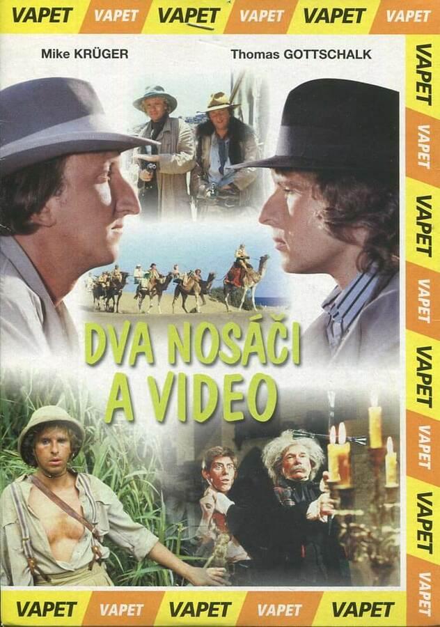 Dva nosáči a video (DVD) (papírový obal)