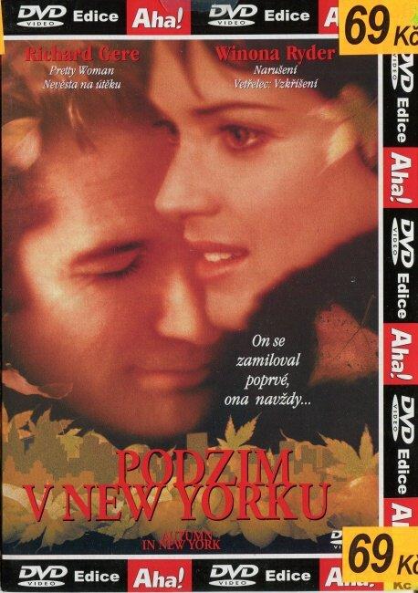 Podzim v New Yorku (DVD) (papírový obal)