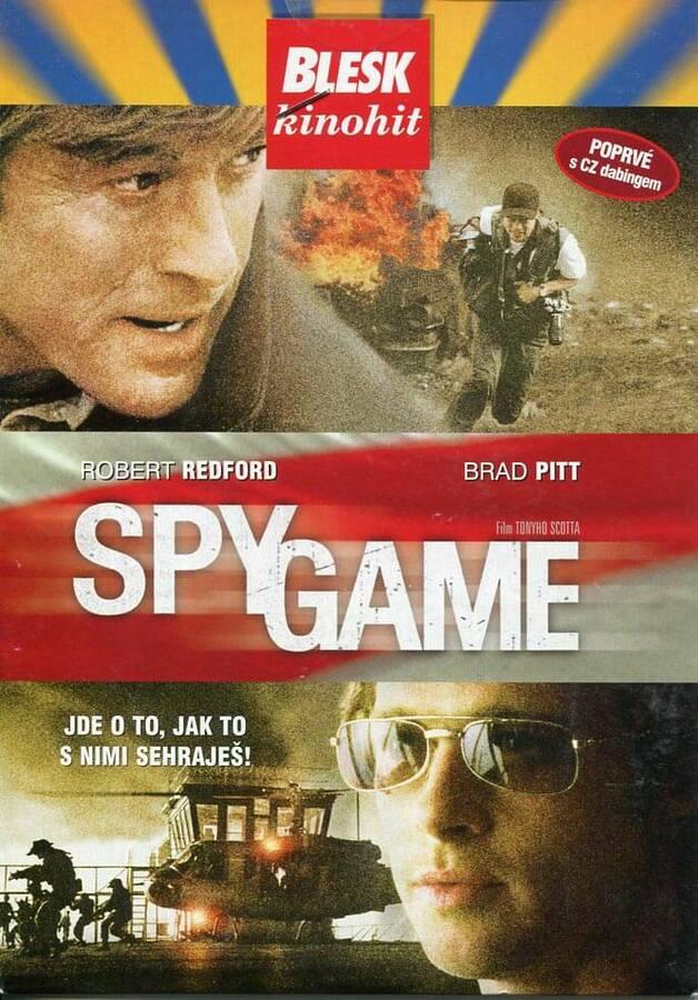 Spy Game (DVD) (papírový obal)