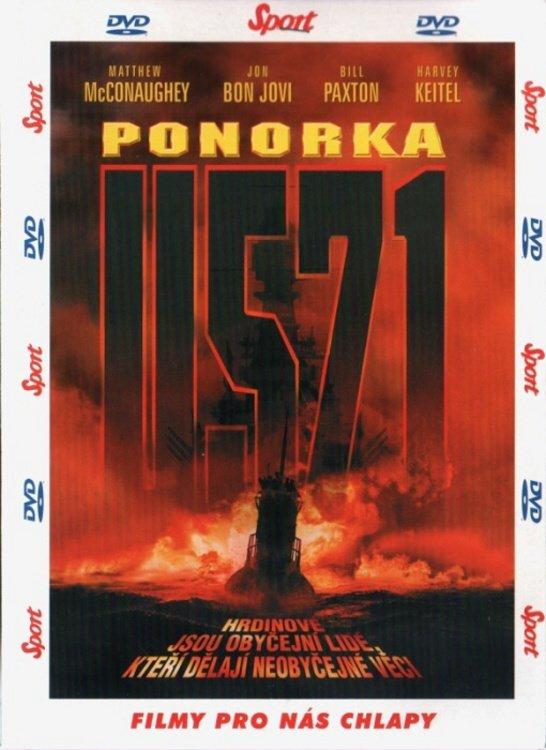 Ponorka U-571 (DVD) (papírový obal)