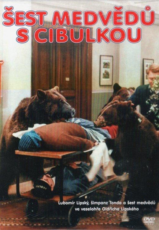 Šest medvědů s cibulkou (DVD) (papírový obal)