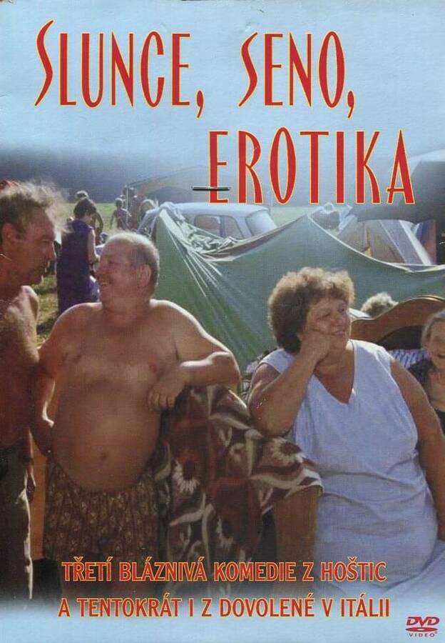 Slunce, seno, erotika (DVD) (papírový obal)