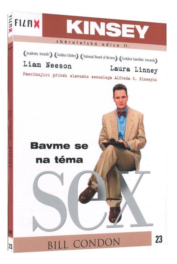 Kinsey (DVD) - edice Film X