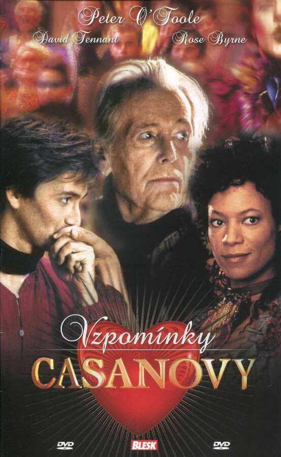 Vzpomínky Casanovy (DVD) (papírový obal)
