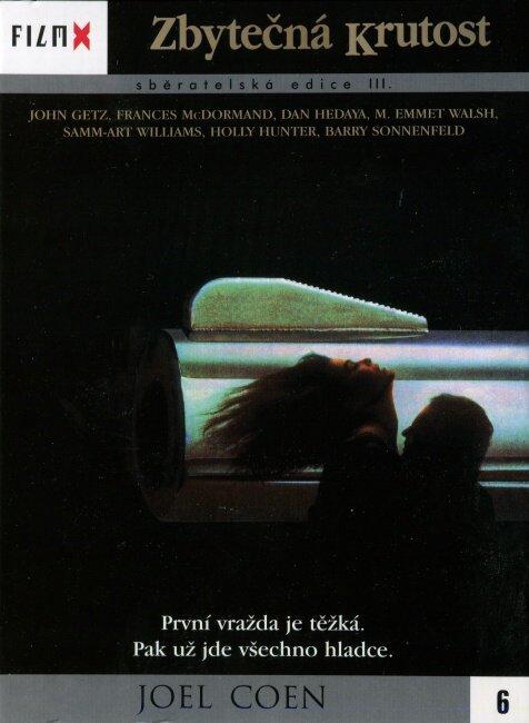 Zbytečná krutost (DVD) - edice Film X