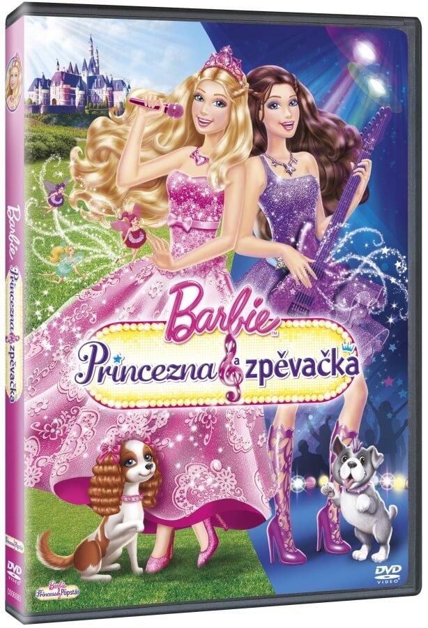 Barbie Princezna & zpěvačka (DVD)