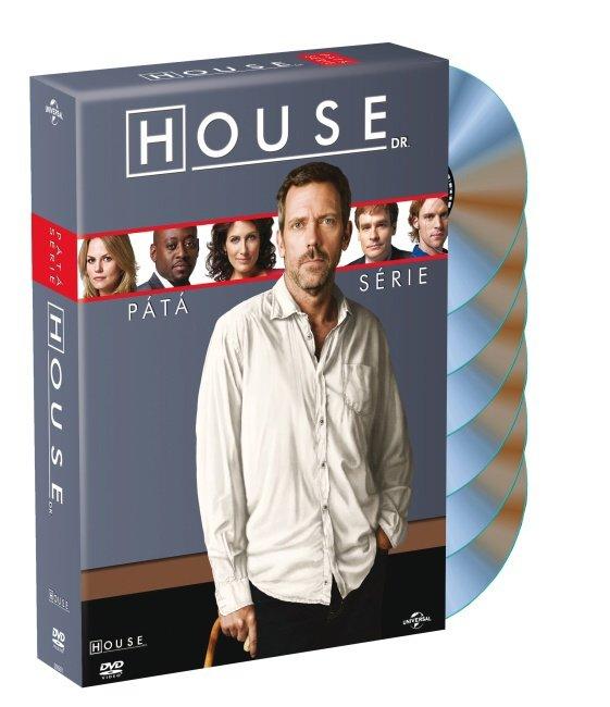 Dr. House 5. sezóna (6 DVD)
