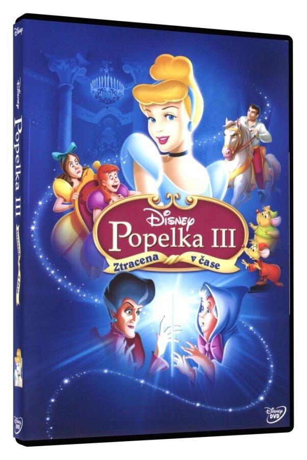 Popelka 3: Ztracena v čase (DVD)