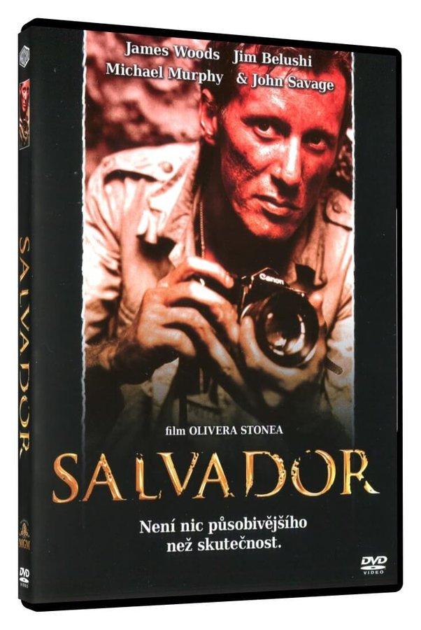 Salvador (Oliver Stone) (DVD) - edice Filmové klenoty