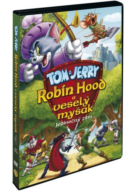 Tom a Jerry: Robin Hood a veselý myšák (DVD)
