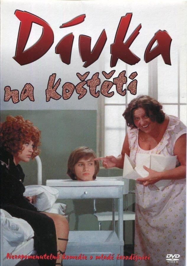 Dívka na koštěti (DVD) (papírový obal)