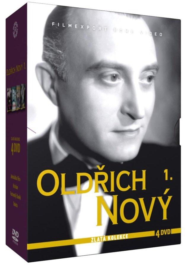 Oldřich Nový 1 - kolekce - 4xDVD