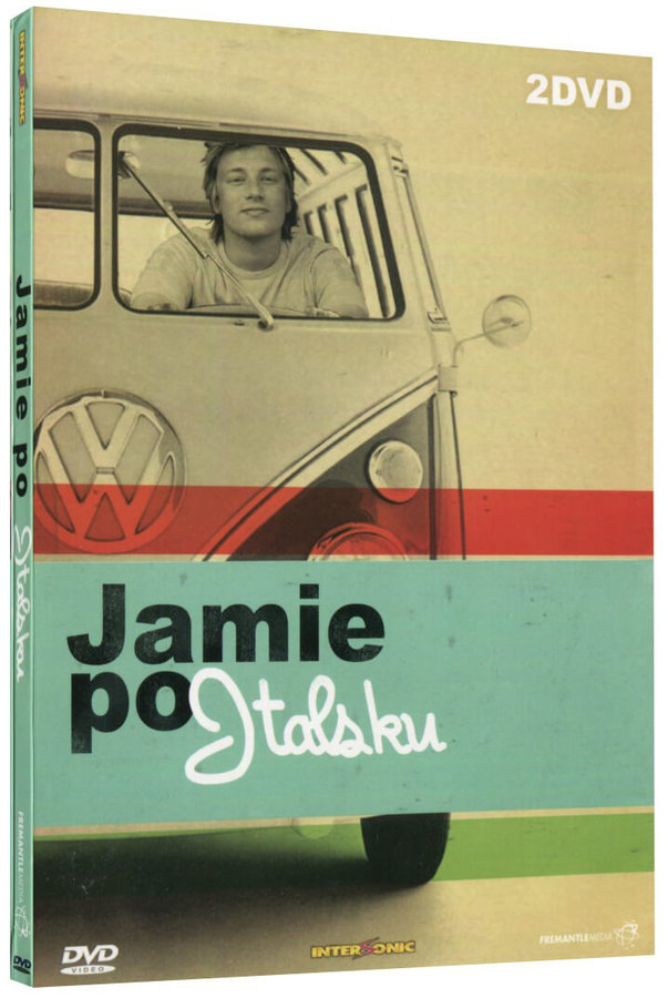 Jamie Oliver - Jamie po Italsku - kolekce - 2xDVD