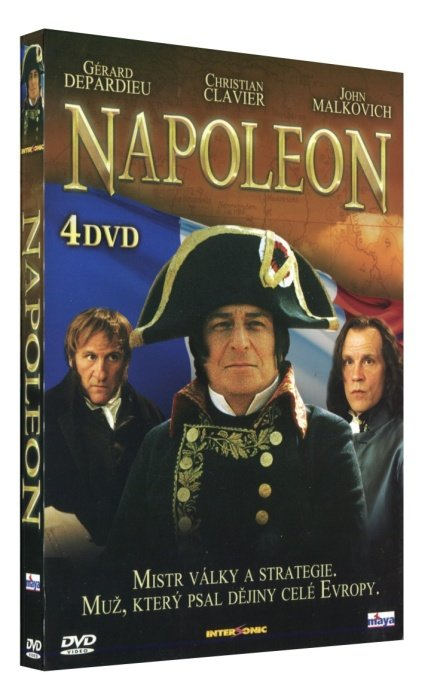Napoleon 1-4 - kolekce - 4xDVD