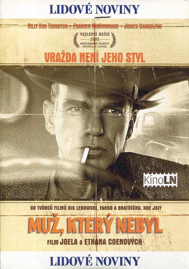 Muž, který nebyl (DVD) (papírový obal)